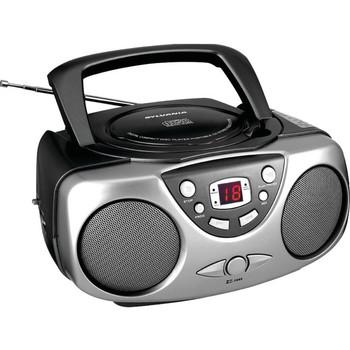 Sylvania Portable CD Radio SRCD243M BLACK