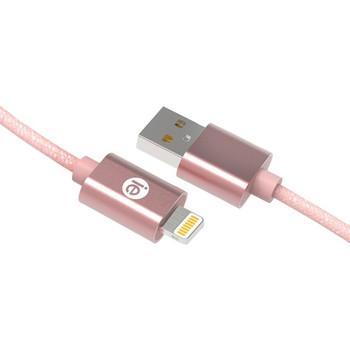 iEssentials Lightning/USB Data Transfer Cable IEN-BC6L-RGLD