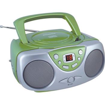Sylvania Portable CD Radio SRCD243M GREEN