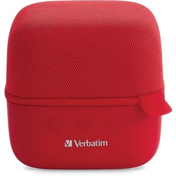 Verbatim Bluetooth Speaker System - Red 70225