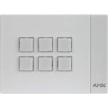 AMX Massio 6-Button ControlPad (US, UK, EU) FG2102-06L-W