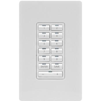 AMX Metreau 13-Button Ethernet Keypad FG5793-02-WH