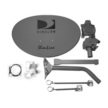DIRECTV AU9 Slimline Dish with Long & Short Brace