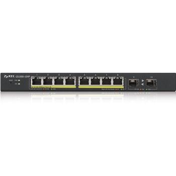 ZYXEL 8-Port GbE Smart Managed PoE Switch with GbE Uplink