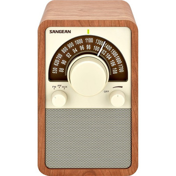 Sangean FM / AM Wooden Cabinet Receiver WR-15WL