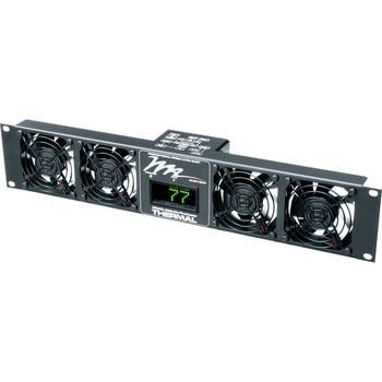 Middle Atlantic Ultra Quiet Fan Panel UQFP4D