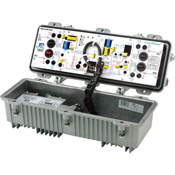 Cisco GainMaker High Gain Dual System Amplifier 1GHz with 42 54 MHz Split 1122G21033314000