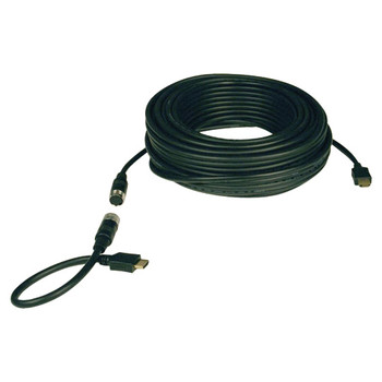 Tripp Lite 25ft High Speed HDMI Cable Digital Video with Audio Easy Pull 1080p M/M 25'