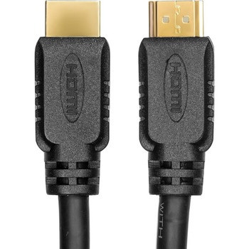 Rocstor Premium 1 ft 4K High Speed HDMI to HDMI M/M Cable - Ultra HD HDMI 2.0 Supports 4k x 2k at 60Hz with resolutions up to 3840x2160p and 18Gbps Bandwidth - HDMI 2.0 to HDMI 2.0 Male/Male - HDMI 2.0 for HDTV, DVD Player, Stereo  Y10C158-B1