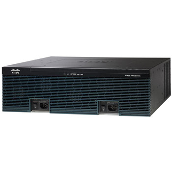 Cisco 3925 Integrated Services Router C3925-VSEC-CUBE/K9