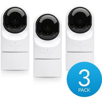 Ubiquiti UniFi G3-FLEX 2 Megapixel Network Camera - 3 Pack