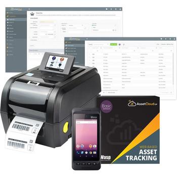 Wasp Barcode Scanner/Printer Kit 633809006319