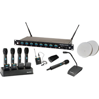 ClearOne WS880 Wireless Microphone System Receiver 910-6000-801-X