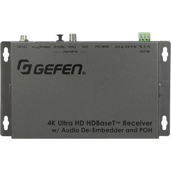 Gefen 4K Ultra HD HDBaseT Receiver w/ Audio De-Embedder and POH