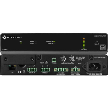 Atlona Gain AT-GAIN-120 Amplifier - 120 W RMS - 2 Channel