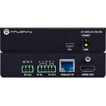 Atlona 4K/UHD HDMI Over HDBaseT Receiver with Control and PoE