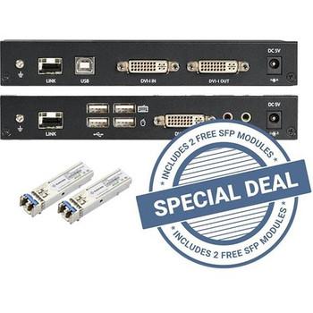 Black Box KVXLCF-100 KVM Console/Extender KVXLCF-100-SFP-BUN2