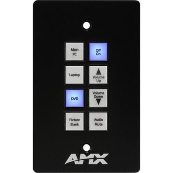 AMX Novara 1000 CP-1008-US A/V ControlPad FG1301-08-SB