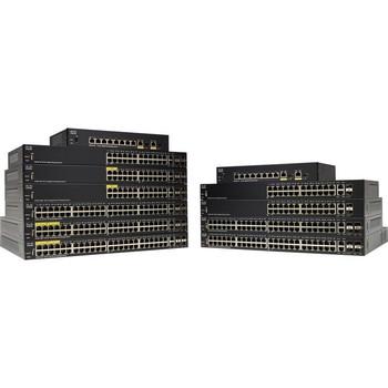 Cisco SG350-52MP 52-Port Gigabit Max-PoE Managed Switch