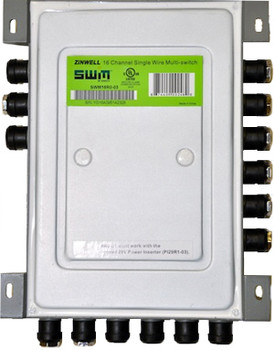 DIRECTV SWM16 Single Wire Multi-Switch (16 Tuners)