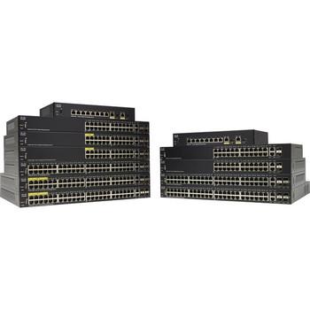Cisco SF350-24P 24-Port 10 100 POE Managed Switch