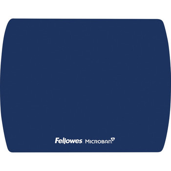 Fellowes Microban® Ultra Thin Mouse Pad - Blue 5908001