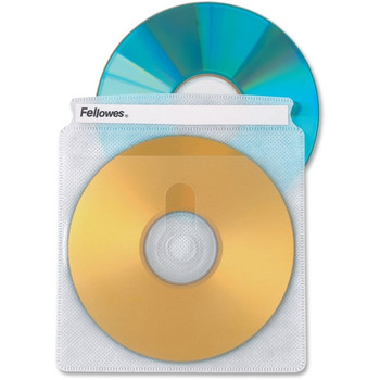 Double-Sided CD/DVD Sleeves - 50 / pack 90659