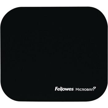 Fellowes Microban® Mouse Pad - Black 5933901
