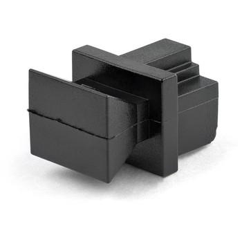 StarTech.com 100 RJ45 Dust Covers - Reusable RJ45 Blanking Plug/ Dust Cap - Snap In Ethernet/LAN Port Protector/ Blocker for Hubs/Switches RJ45COVER