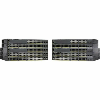 Cisco Catalyst 2960X-24TS-L 24 Ports Ethernet Switch - Redundant Power Supply (not included)
