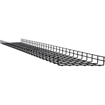 Tripp Lite Wire Mesh Cable Tray - 300 x 50 x 3000 mm (12 in. x 2 in x 10 ft) 10 Pack SRWB12210STR10