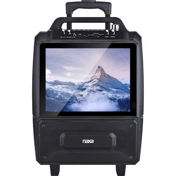 Naxa NDS-9000 Portable Bluetooth Speaker System - 20 W RMS - Black NDS-9000