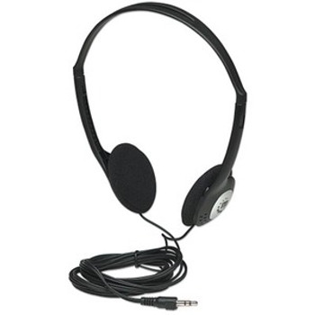 Manhattan Lightweight Stereo Headphones with Cushioned Earpads 177481