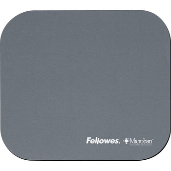 Fellowes Microban® Mouse Pad - Graphite 5934001