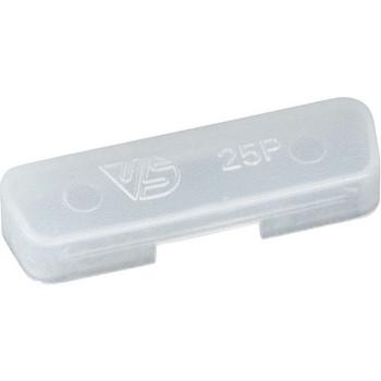 Black Box DB25 Female Dust Cover - 25-Pack CDC00105-25PAK