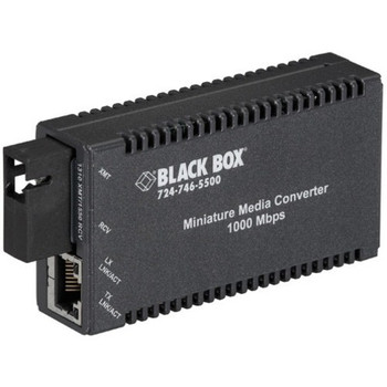Black Box Multipower Miniature Transceiver/Media Converter LGC126A-R3