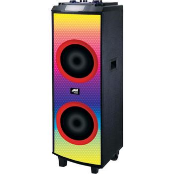 Naxa NDS-1250 Portable Bluetooth Speaker System - Black NDS-1250