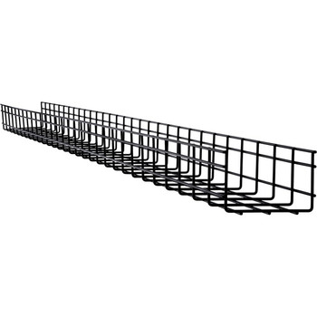 Tripp Lite Wire Mesh Cable Tray - 150 x 100 x 3000 mm (6 in. x 4 in. x 10 ft.), 10 Pack SRWB6410STR10