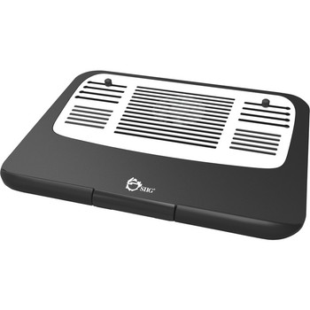 SIIG Ergonomic Multi-Angle Tilted Laptop Cooling Pad CE-CP0011-S1