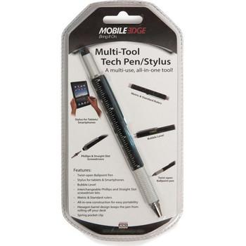 Mobile Edge Multi-Tool Tech Pen/Stylus (Black) MEASPM1
