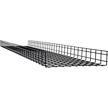 Tripp Lite Wire Mesh Cable Tray - 450 x 100 x 3000 mm (18 in. x 4 in. x 10 ft.), 6 Pack SRWB18410STR6