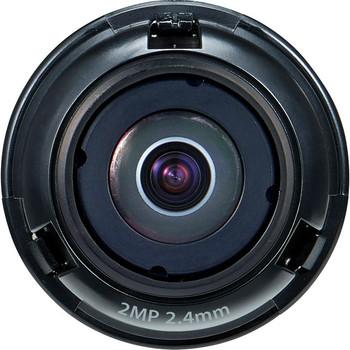 Wisenet SLA-2M2402D - 2.40 mm - f/2 - Fixed Lens SLA-2M2402D