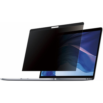 StarTech.com Laptop Privacy Screen for 15 inch MacBook Pro & Air - Magnetic Removable Security Filter - Blue Light Reducing - Matte/Glossy PRIVSCNMAC15