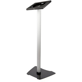"""StarTech.com Secure Tablet Floor Stand - Security lock protects your tablet from theft and tampering - Supports iPad and other 9.7"""" tablets - Fixed Height of approx. 42"""" (1060 mm) - Built-in cable management - Covered Home button - STNDTBLT1FS"""