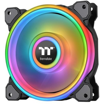 Thermaltake Riing Quad 14 RGB Radiator Fan TT Premium Edition Single Fan Pack - 1 Pack CL-F089-PL14SW-C