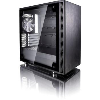 Fractal Design Define Mini C TG Computer Case with Windowed Side Panel FD-CA-DEF-MINI-C-BK-TG