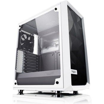 Fractal Design Meshify C White - TG Computer Case FD-CA-MESH-C-WT-TGC