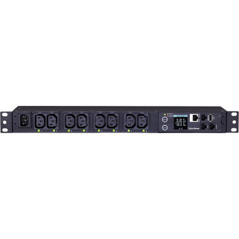CyberPower PDU81004 100 - 120 VAC 15A Switched Metered-by-Outlet PDU