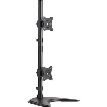 "Tripp Lite Dual Vertical Flat-Screen Desk Mount Monitor Stand Clamp Swivel Tilt 15"" to 27"" Flat Screen Displays DDR1527SDC"