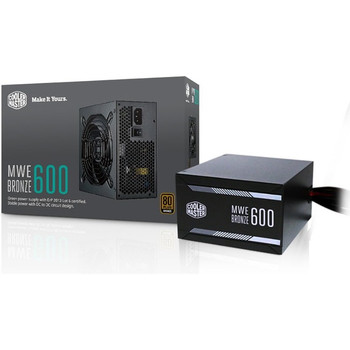 Cooler Master 80 PLUS Bronze Certified Power Supply MPX-6001-ACAAB-US